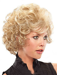 cheap -Synthetic Wig Kinky Curly Curly Wig Blonde Short Blonde Women's Blonde