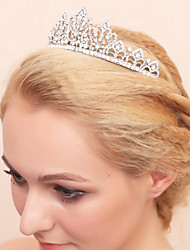 cheap -Rhinestone / Alloy Tiaras with 1 Wedding / Special Occasion / Birthday Headpiece