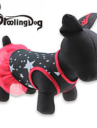 cheap -Cat Dog Dress Dog Clothes Black Cotton Costume For Summer