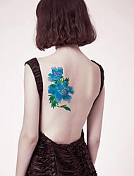 cheap -1 pcs Temporary Tattoos New Design / Safety brachium / Back Water-Transfer Sticker Tattoo Stickers