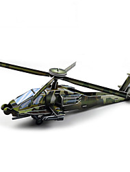 cheap -DIY Helicopter Shaped 3D Puzzle