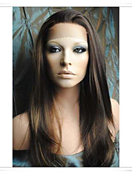 cheap -Human Hair Glueless Glueless Full Lace Glueless Lace Front Wig style Straight Wig Short Medium Length Long Human Hair Lace Wig