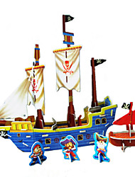 Недорогие -DIY пиратский корабль в форме 3d головоломки