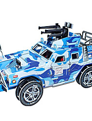 Недорогие -DIY Humvee автомобиль в форме 3d головоломки