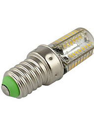 cheap -2.5 W LED Corn Lights 200-250 lm E14 T 64 LED Beads SMD 3014 Warm White Cold White 220-240 V / 1 pc / RoHS / CCC