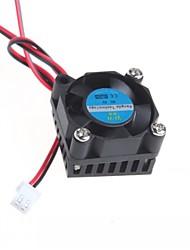 Недорогие -Вентилятор 3 см вентилятор радиатора / видеокарта / немые 5V вентиляторов