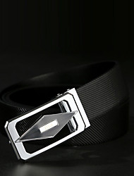 cheap -Men's Party Work Casual Leather Alloy Waist Belt