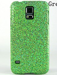 cheap -Case For Samsung Galaxy S5 Embossed Back Cover Glitter Shine PC
