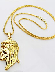 cheap -Pendant Necklace Vintage Party Casual egyptian Alloy Screen Color Necklace Jewelry For