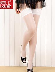 abordables -Femme Classique & Intemporel Dentelle Jupes - Couleur Pleine Maille Noir Rouge Rose Taille unique / Super sexy
