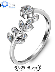 cheap -Adjustable Ring thumb ring Silver Sterling Silver Vintage Party Work Jewelry Cute