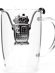 Недорогие -Робот висит нержавеющей стали чайник для заварки с поддоном
