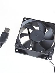 Недорогие -8 см серверный корпус бесшумный вентилятор / компьютер вентилятор охлаждения 5V