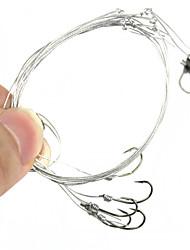 cheap -1 pcs Circle Hook Metal Fishing Hooks Sea Fishing / Freshwater Fishing / Carp Fishing Thin Hang-Nail Size 7# / 8# / 10# / 9# / 11#