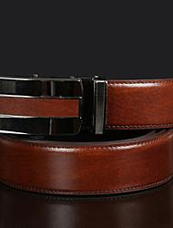 cheap -Men's Fashion Leather Waist Belt
