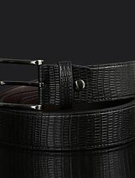 cheap -Men Alloy/Leather Waist Belt