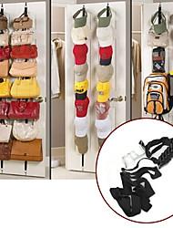 cheap -16 Up Down Door Hooks Wall Hanger Space Saver Handbags Bags Clothes Hat Bedroom