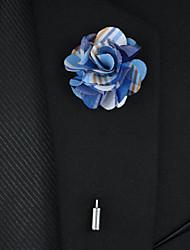 cheap -Men's Fashion Fabric/Alloy Flower Suit Brooch