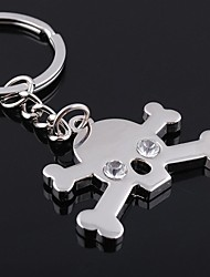 cheap -Unisex Alloy Casual Keychain Skull Key Chains