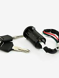 Недорогие -4-х проводная блокировка ключ зажигания для мопеда Скутер Квадроцикл ATV пит велосипеда грязи