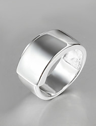 cheap -Women's Band Ring Silver Sterling Silver Statement Fashion Party Jewelry