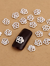 cheap -Metal Nail Jewelry For Finger Toe Lovely nail art Manicure Pedicure Flower / Abstract / Classic Daily / Cartoon / Punk