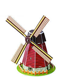 Недорогие -развивающие игрушки головоломки рука, чтобы держать голландские ветряные мельницы