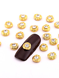 cheap -Metal Nail Jewelry For Finger Toe Lovely nail art Manicure Pedicure Fruit / Flower / Abstract Daily / Cartoon
