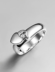 cheap -Women's Band Ring Silver Sterling Silver Tassel Vintage Fashion Wedding Party Jewelry Cute
