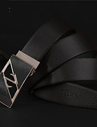 cheap -Men's Fashion Party/Work/Casual Alloy/Leather Waist Belt