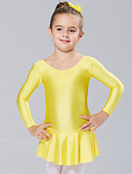 cheap -Ballet Dresses Girls' Training / Performance Spandex Long Sleeve Princess Dress