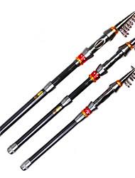 cheap -Mini Carbon Telescopic Fishing Rod Portable Spinning Fishing Rod 180 210 240 270 300 330 360Cm
