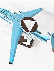 Недорогие -DIY раннего предупреждения самолет форме 3d головоломки