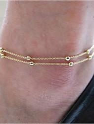 Недорогие -бисер браслет, браслет кольца тело ноги пляж ювелирные изделия