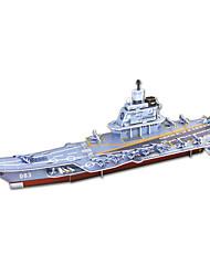 Недорогие -DIY военный корабль в форме 3d головоломки (8 пс)