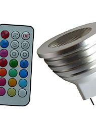 Недорогие -4w 350-450 lm mr16 rgb светодиодный колпачок пульт дистанционного управления прожектор ac dc 12v