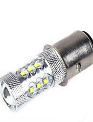 cheap -Decoration Light 1200 lm BA9S 14LED LED Beads High Power LED Decorative Cold White 12 V 24 V / 1 pc / RoHS / CCC