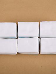 cheap -500pcs white nail polish remover cotton nail art clean cotton nail tips remover pads manicure tools