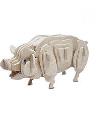 cheap -Solid Wood Puzzle Chinese Zodiac