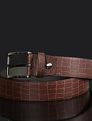 cheap -Men's Elegant Fashion Alloy/Leather Waist Belt