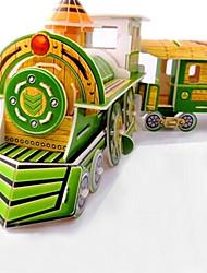 Недорогие -DIY поезд в форме 3d головоломки (8 пс)