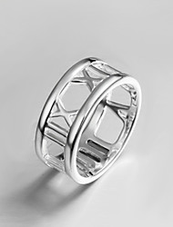 cheap -Women's Statement Ring Silver Sterling Silver Fashion Party Jewelry
