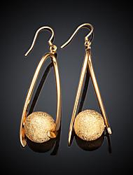 cheap -Women's Drop Earrings Drop Gold Plated Earrings Jewelry Gold For