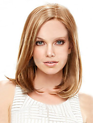 cheap -Synthetic Wig Straight Straight Bob Wig Short Light Blonde Synthetic Hair 9 inch Women's Natural Hairline Brown