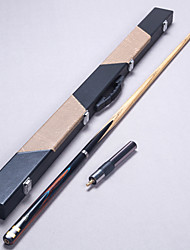 cheap -Cue Sticks & Accessories Snooker Wood Three-quarter Two-piece Cue