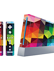 cheap -B-SKIN Sticker For Wii U / Wii ,  Novelty Sticker PVC 1 pcs unit