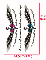 cheap -1 pcs Temporary Tattoos High Definition / Special Design Body / Shoulder / Back Water-Transfer Sticker Tattoo Stickers