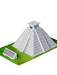 Недорогие -DIY майя в форме пирамиды 3d головоломки