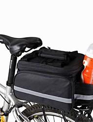 cheap -8 L Bike Panniers Bag Shoulder Messenger Bag Bike Rack Bag Multifunctional Compact Bike Bag Canvas Bicycle Bag Cycle Bag Camping / Hiking Cycling / Bike