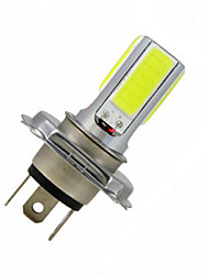 cheap -3.5 W Decoration Light 300-350 lm H4 4LED LED Beads COB Cold White 12 V / 1 pc / RoHS / CCC